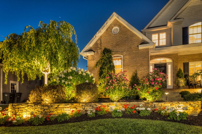 Trex Landscape Lighting enhances a home's safety, security while adding ambiance.