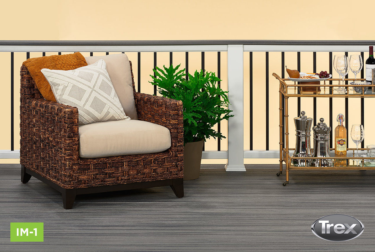 Trex Decking and Railing Duos - Island Mist 1