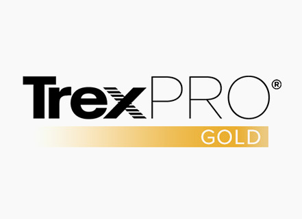 TrexPro Gold deck builders are comprised of a select group of contractors who have completed advanced installation and product training.
